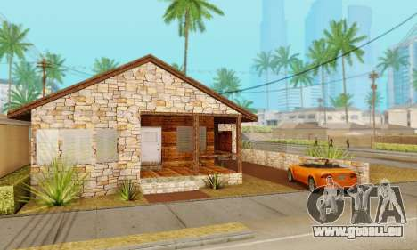 Nouvelle maison de big Smoke pour GTA San Andreas deuxième écran