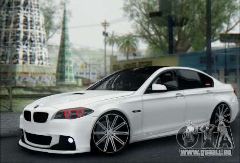 BMW 550 F10 VOSSEN pour GTA San Andreas