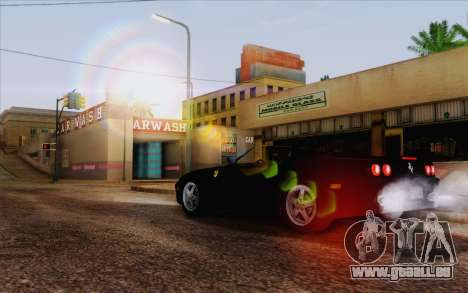 IMFX Lensflare v2 pour GTA San Andreas troisième écran