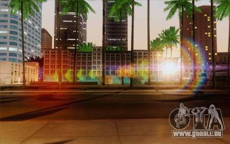 IMFX Lensflare v2 pour GTA San Andreas