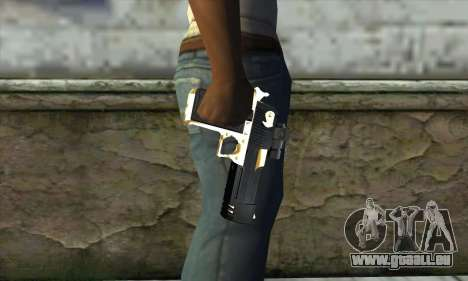 Golden Desert Eagle für GTA San Andreas dritten Screenshot