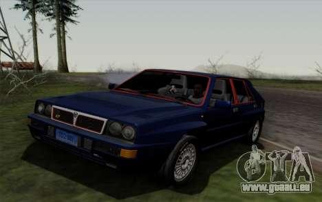 Lancia Delta HF Integrale Evo2 pour GTA San Andreas laissé vue