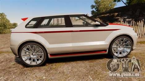 GTA V Enus Huntley S für GTA 4 linke Ansicht