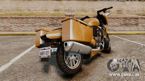 GTA V Dinka Thrust für GTA 4 rechte Ansicht