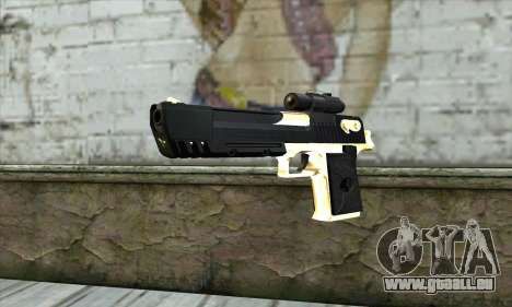Golden Desert Eagle pour GTA San Andreas