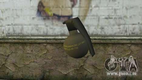 M-67 Grenade für GTA San Andreas