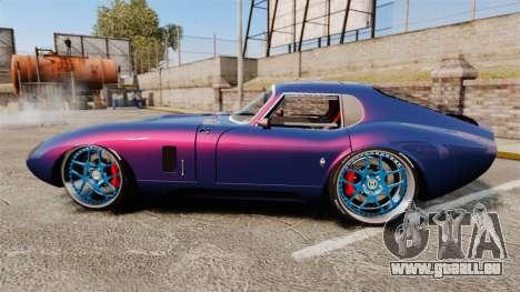 Shelby Cobra Daytona Coupe pour GTA 4 est une gauche