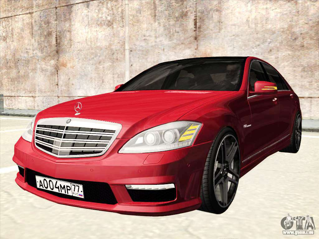 Mercedes benz s65 amg 2012 pour gta san andreas for Mercedes benz s65 amg