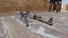 Die AK-47 Blue Camo