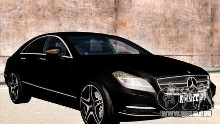 Mercedes-Benz CLS350 2012 pour GTA San Andreas
