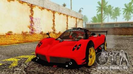 Pagani Zonda Type R Red pour GTA San Andreas