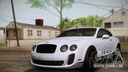 Bentley Continental SuperSports 2010 v2 Finale für GTA San Andreas