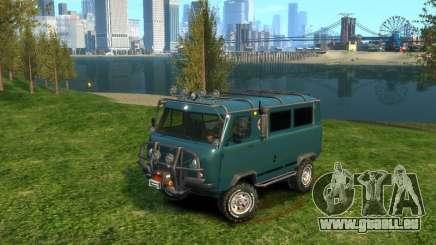 UAZ-3962 HORS ROUTE pour GTA 4