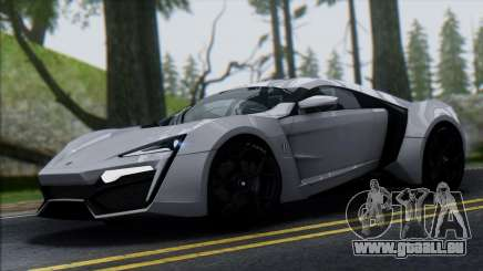 W Motors Lykan Hypersport 2013 pour GTA San Andreas