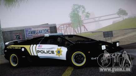 Lamborghini Diablo SV NFS HP Police Car pour GTA San Andreas
