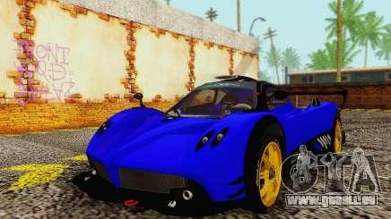 Pagani Zonda Type R Blue pour GTA San Andreas