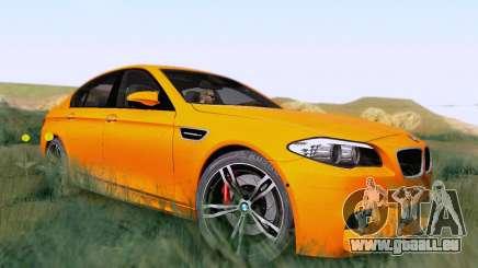 BMW F10 M5 2012 Stock für GTA San Andreas