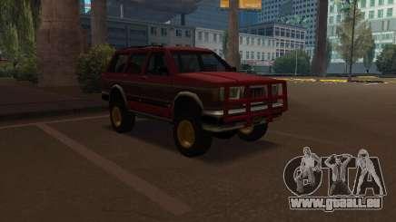 Landstalker V2 pour GTA San Andreas