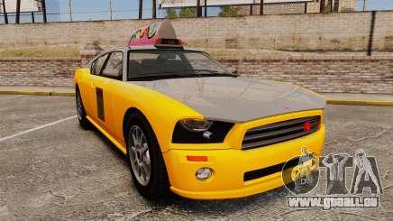 Bravado Buffalo Taxi pour GTA 4
