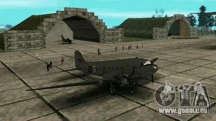 C-47 Dakota RAF für GTA San Andreas
