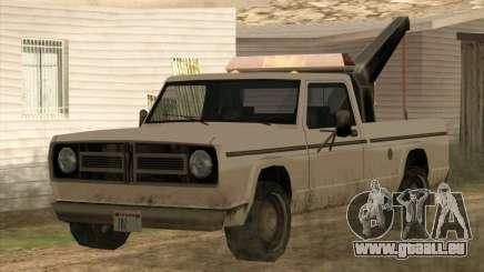 Neue Schlepptau (Sadler) für GTA San Andreas