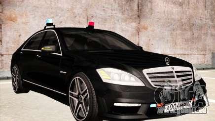 Mercedes-Benz S65 AMG 2012 pour GTA San Andreas