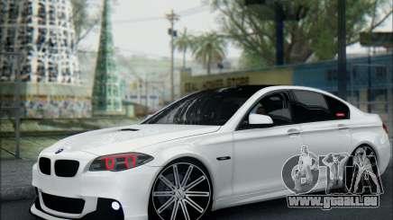 BMW 550 F10 VOSSEN für GTA San Andreas