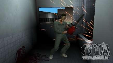 Kettensäge Taiga für GTA Vice City
