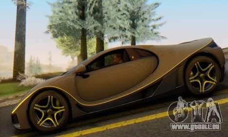 GTA Spano 2014 Carbon Edition pour GTA San Andreas vue arrière