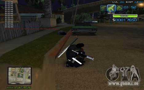C-HUD by nayshnik pour GTA San Andreas