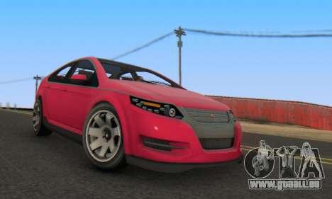 Cheval Surge V1.0 pour GTA San Andreas vue de droite