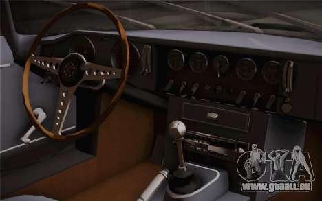 Jaguar E-Type 4.2 für GTA San Andreas rechten Ansicht