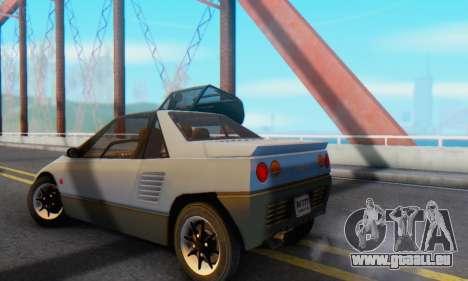 Mazda Autozam AZ-1 für GTA San Andreas rechten Ansicht