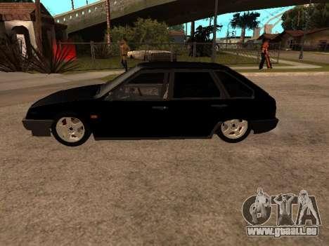 VAZ 2109 Gangster neuf V 1.0 pour GTA San Andreas vue de droite