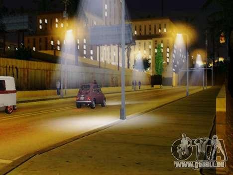Improved Lamppost Lights v2 für GTA San Andreas zweiten Screenshot