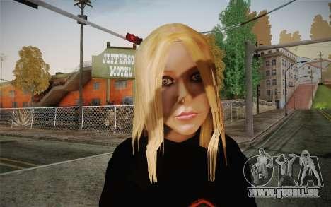 Avril Lavigne pour GTA San Andreas troisième écran