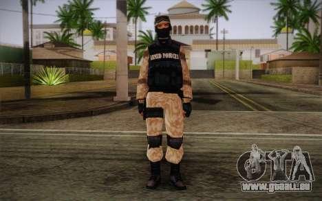 SWAT Desert Camo pour GTA San Andreas