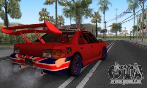New Sultan für GTA San Andreas rechten Ansicht