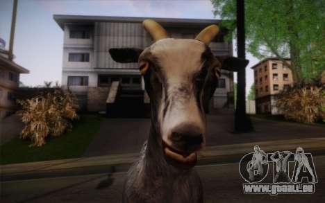 Chèvre pour GTA San Andreas troisième écran