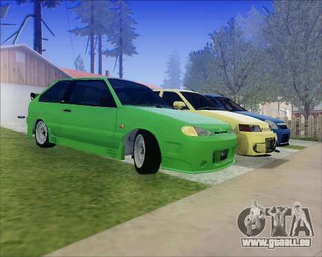 VAZ 2112 Accordables pour GTA San Andreas roue