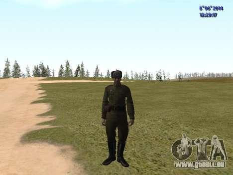 USSR Soldier Pack pour GTA San Andreas quatrième écran
