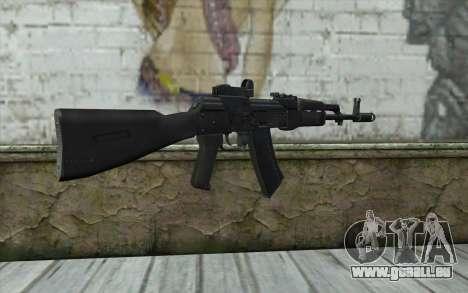 AK74M pour GTA San Andreas deuxième écran