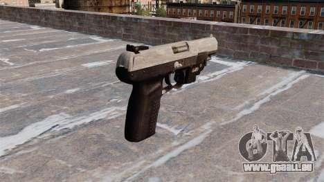 Pistolet FN Cinq à sept LAM ACU Camo pour GTA 4 secondes d'écran