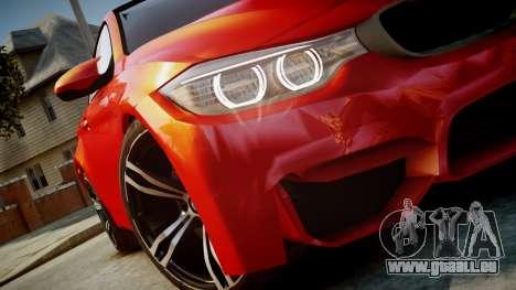 BMW M4 Coupe 2014 v1.0 für GTA 4 rechte Ansicht