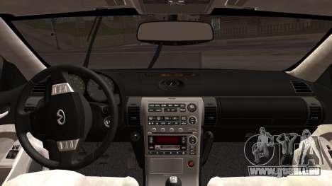 Infiniti G35 Coupe (V35) 2003 für GTA San Andreas rechten Ansicht