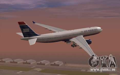 Airbus A330-300 für GTA San Andreas linke Ansicht