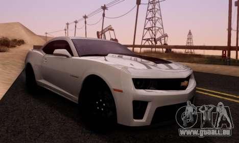 Chevrolet Camaro ZL1 2014 für GTA San Andreas