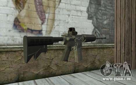 M4A1 Holosight pour GTA San Andreas deuxième écran