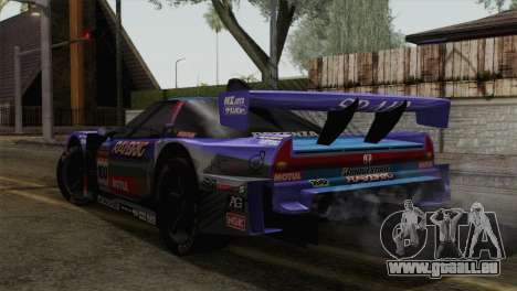 Honda NSX World Grand Prix für GTA San Andreas linke Ansicht