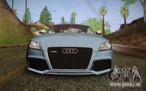 Audi TT RS 2011 pour GTA San Andreas vue de côté
